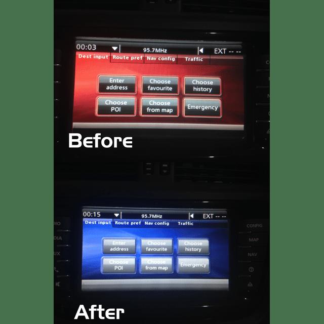 Holden VE Series 2 IQ Radio Programming - Colour Change